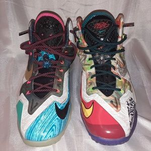 "Mens Nike Lebron 11 Premium ""What The Lebron"""